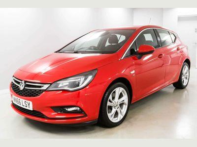 Vauxhall Astra Hatchback 1.6 CDTi BlueInjection SRi Nav (s/s) 5dr