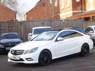 Mercedes-Benz E Class Coupe 2.1 E250 CDI BlueEFFICIENCY Sport G-Tronic 2dr