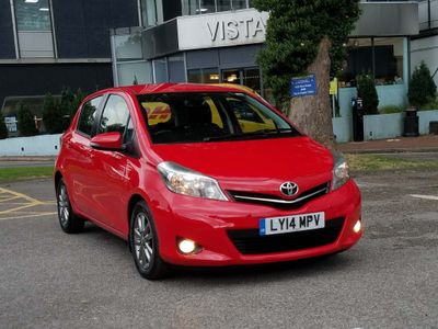 TOYOTA YARIS Hatchback 1.4 D-4D Icon+ (Smart pack) 5dr