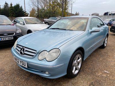 Mercedes-Benz CLK Coupe 3.2 CLK320 Elegance 2dr