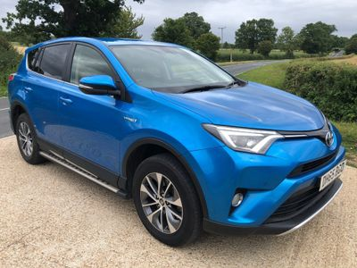 Toyota RAV4 SUV 2.5 VVT-h Business Edition Plus CVT (s/s) 5dr