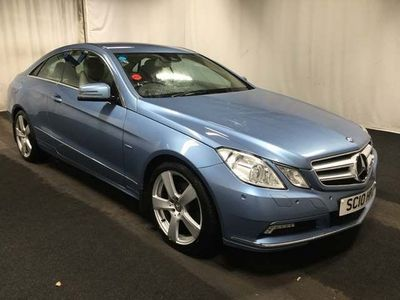 Mercedes-Benz E Class Coupe 1.8 E200 CGI BlueEFFICIENCY SE 2dr