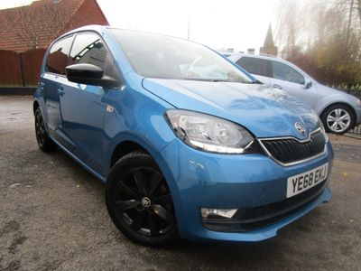 SKODA Citigo Hatchback 1.0 GreenTech Colour Edition (s/s) 5dr