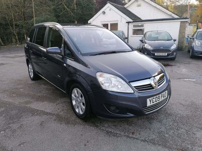 Vauxhall Zafira MPV 1.9 CDTi Breeze Plus 5dr