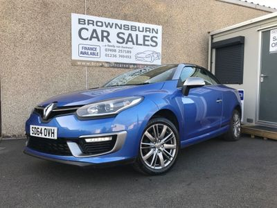 Renault Megane Convertible 1.2 TCe ENERGY GT Line (s/s) 2dr
