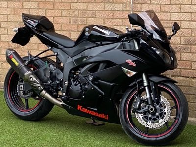 Kawasaki ZX-6R Super Sports 600 Ninja 600