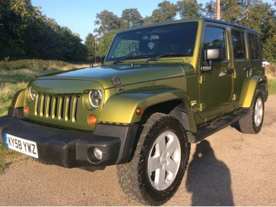 Jeep Wrangler SUV 2.8 CRD Sahara Unlimited Auto 4WD 4dr