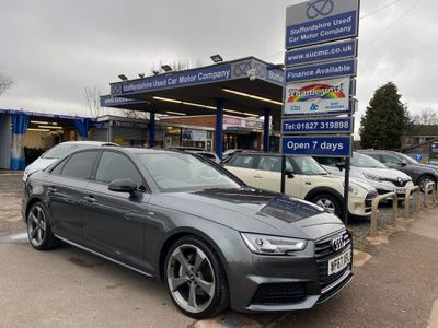 Audi A4 Saloon 2.0 TDI Black Edition S Tronic (s/s) 4dr