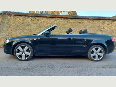 Audi A4 Cabriolet Convertible 2.0 TFSI S line Cabriolet Multitronic 2dr