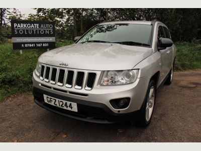 Jeep Compass SUV 2.4 Limited CVT 4WD 5dr