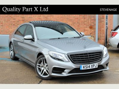 Mercedes-Benz S Class Saloon 3.0 S350 CDI BlueTEC AMG Line L (Executive) 7G-Tronic Plus 4dr