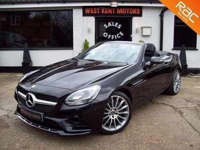 Mercedes-Benz SLC Convertible 2.0 SLC300 AMG Line G-Tronic (s/s) 2dr