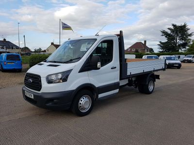 FORD TRANSIT Tipper 2.0 TDCi 350 L2 1-Way Tipper RWD 2dr (DRW)