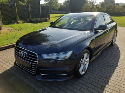 Audi A6 Saloon Saloon 2.0 TDI S line S Tronic quattro (s/s) 4dr
