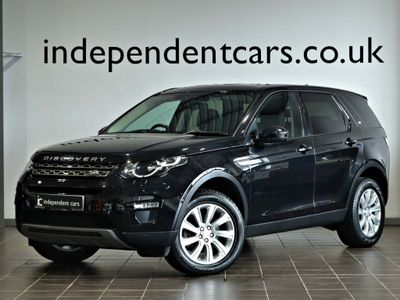 Land Rover Discovery Sport SUV 2.2 SD4 SE Tech Auto 4WD (s/s) 5dr