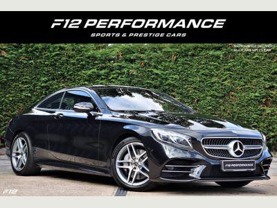 Mercedes-Benz S Class Coupe 4.0 S560 V8 BiTurbo AMG Line (Premium) G-Tronic (s/s) 2dr