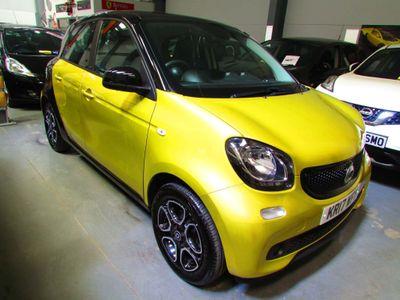 Smart forfour Hatchback 1.0 Prime (Premium) (s/s) 5dr