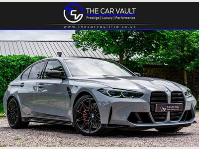 BMW M3 Saloon 3.0 BiTurbo Competition Steptronic (s/s) 4dr