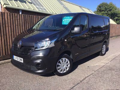 RENAULT TRAFIC Panel Van 1.6 dCi SL27 Business Panel Van 5dr (Ready 4work)