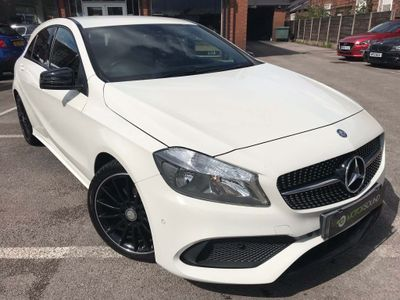Mercedes-Benz A Class Hatchback 1.6 A180 AMG Line (Executive) 7G-DCT (s/s) 5dr