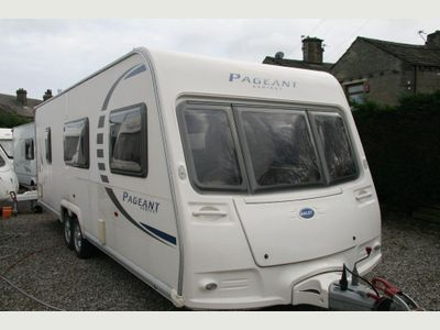 Bailey PAGEANT LOIRE SERIES 7 FANTASTIC Tourer LAYOUT RECENT SERVICE VGC 6 BERTH