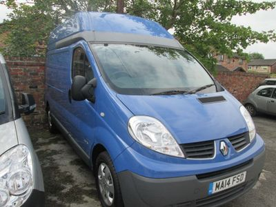 RENAULT TRAFIC Panel Van 2.0 dCi LH29 Phase 3 High Roof Van 4dr (EU5, Nav)