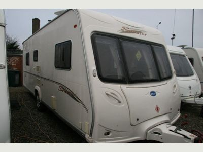 Bailey SENATOR VIRGINIA FIXED ISLAND BED Tourer MOTOR MOVER IMMACULATE CONDITION