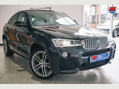BMW X4 SUV 3.0 30d M Sport Auto xDrive (s/s) 5dr