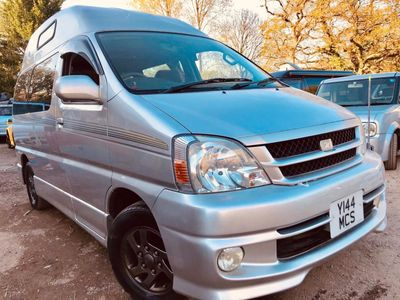 Toyota HIACE TOURING REGIUS HIGH TOP 4 BERTH 61K Campervan FULL SIDE CAMPER CONVERSION PETROL