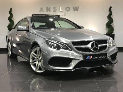 Mercedes-Benz E Class Coupe 2.0 E200 AMG Line Edition G-Tronic (s/s) 2dr
