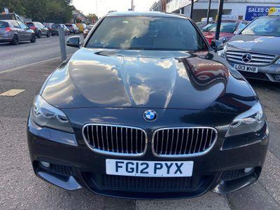 BMW 5 Series Saloon 2.0 520d BluePerformance M Sport 4dr