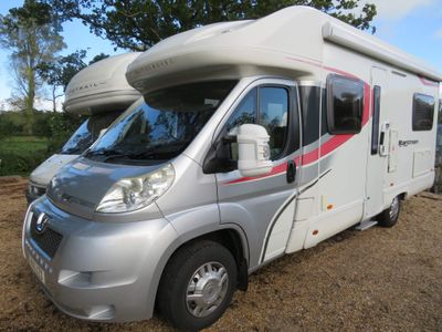 Autocruise Starstream Low Profile Fixed French bed