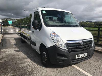 Vauxhall Movano Vehicle Transporter 2.3 CDTi 3500 FWD L3 H1 EU5 2dr