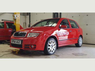 SKODA Fabia Hatchback 1.9 TDI vRS 5dr