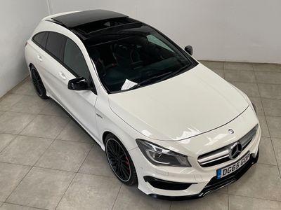 Mercedes-Benz CLA Class Estate 2.0 CLA45 AMG Shooting Brake Speedshift DCT 4MATIC (s/s) 5dr