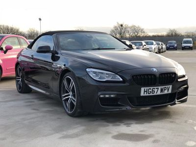 BMW 6 Series Convertible 3.0 640i GPF M Sport Auto (s/s) 2dr