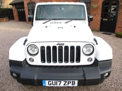 Jeep Wrangler SUV 2.8 CRD Night Eagle Auto 4WD 4dr