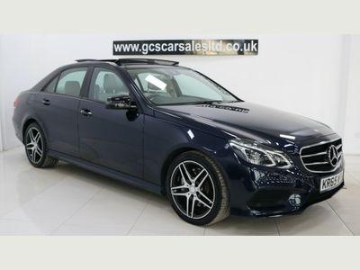 Mercedes-Benz E Class Saloon 3.0 E350 CDI BlueTEC AMG Night Edition (Premium) 9G-Tronic Plus 4dr