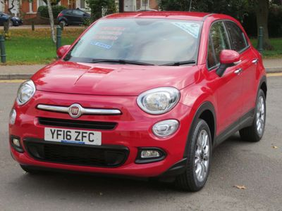 Fiat 500X SUV 1.6 E-Torq Pop Star Plus 5dr