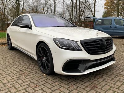 Mercedes-Benz S Class Saloon 5.5 S63L AMG (Executive) Speedshift MCT 4dr