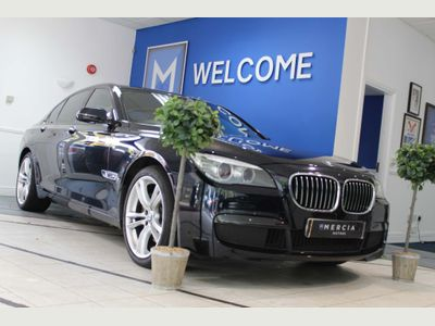 BMW 7 Series Saloon 3.0 730d M Sport Exclusive (s/s) 4dr