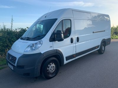 Fiat Ducato Panel Van 3.0 JTD MultiJet Power 35 MAXI L4H2 High Roof Van 4dr (LWB XLB)