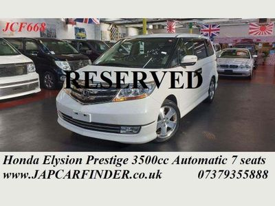 Honda Elysion MPV Prestige V6 Fully loaded Captain seats