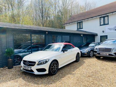 Mercedes-Benz C Class Convertible 3.0 C43 V6 AMG (Premium Plus) Cabriolet G-Tronic+ 4MATIC (s/s) 2dr