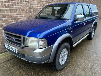 Ford Ranger Pickup 2.5 TDdi XLT Double Cab Crewcab Pickup 4x4 4dr