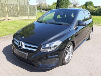 MERCEDES-BENZ B CLASS MPV 1.5 B180d AMG Line (Executive) 7G-DCT (s/s) 5dr