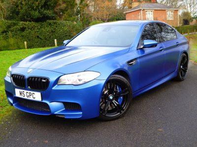 BMW M5 Saloon 4.4 V8 M Performance Edition M DCT 4dr