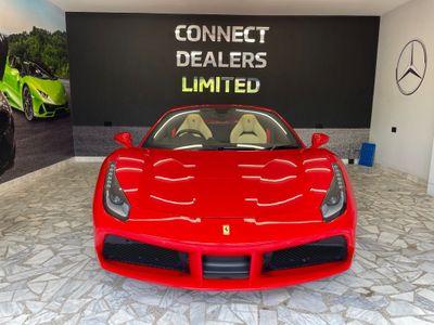 Ferrari 488 Convertible 3.9T V8 Spider F1 DCT (s/s) 2dr