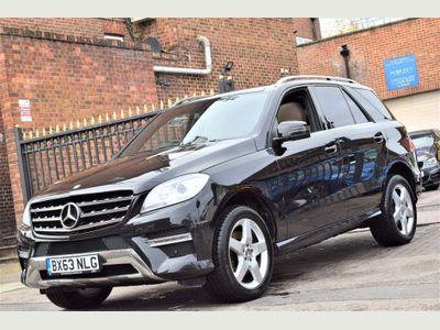 Mercedes-Benz M Class SUV 3.0 ML350 CDI BlueTEC AMG Sport 7G-Tronic Plus 5dr