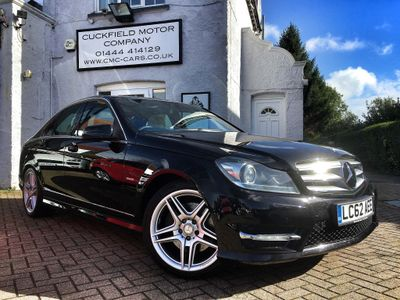 Mercedes-Benz C Class Saloon 3.0 C350 CDI BlueEFFICIENCY Sport 7G-Tronic 4dr